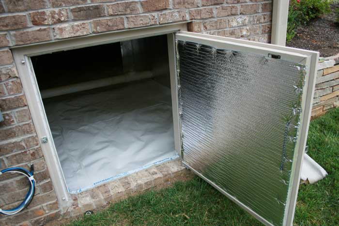 What can moisture do to your crawl space copy and send for How to build a crawl space